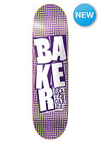 BAKER Deck Stacked Chillwave Purple/Green 8.3 one colour