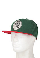 BEASTIN Always Beastin Snap Back Cap jag green/red