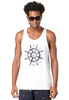 BEASTIN Bonafide Beasts Loose Tank Top white/deep navy/green