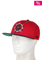 BEASTIN Bonafide Beasts Snap Back Cap red/deep navy/gold