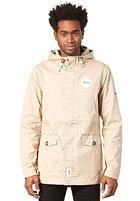 BEASTIN BSTN Summer Parka dark beige/off white