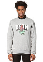 BEASTIN BSTN Tosh Crewneck dark grey heather/off white