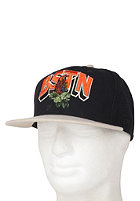 BEASTIN BSTN Tosh Snap Back Cap black/green wool/orange