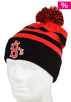BEASTIN Hail Mary Bommel Beanie red/black