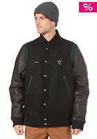 BEASTIN Hunted Varsity Jacket black/forrest green