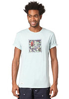 BEASTIN Le Beast S/S T-Shirt dirty aqua heather/multicolor