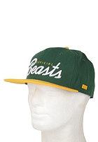 BEASTIN Official Beasts Snap Back Cap green/yellow/white