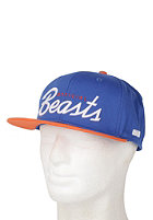 BEASTIN Official Beasts Snap Back Cap royal/orange/white