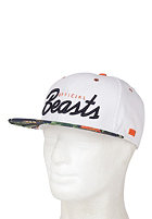 BEASTIN Official Beasts Snap Back Cap white/multicolor
