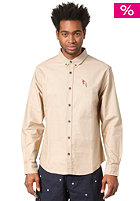 BEASTIN Tosh Button Down Shirt beige oxford/multicolor