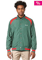 BEASTIN Tosh Varsity Jacket jag green/red