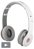 BEATS Solo HD beats by Dr. Dre Headphones white