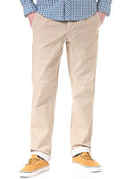 BEN SHERMAN Chambray Single Pleat Chino Pant antique bronze