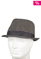 BEN SHERMAN Check Trilby Hat brown