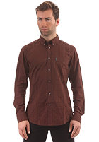 BEN SHERMAN Fashion L/S Shirt chocolate torte