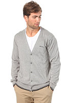 BEN SHERMAN Hazlewick Cardigan Sweat slate grey marl