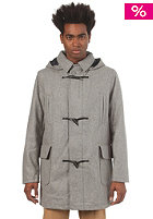 BEN SHERMAN Melton Jacket skyscraper grey marl