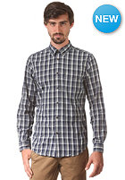 BEN SHERMAN Mini Grid Check L/S Shirt blue depths