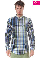 BEN SHERMAN Multicolour Check L/S Shirt turkish sea