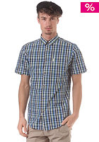 BEN SHERMAN Multicolour Check S/S Shirt turkish sea