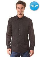 BEN SHERMAN Stretch Poplin Shirt jet black