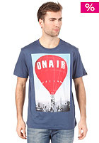 BENCH Air Balloon S/S T-Shirt dark denim