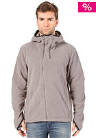 BENCH Air Dog Hooded Fleece Zipper steel grey
