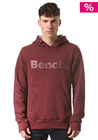 BENCH Airesist Hooded Sweat red mahogany
