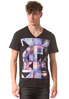 BENCH All Square S/S T-Shirt jet black