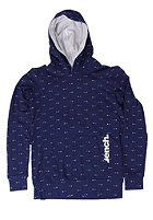 BENCH Arrow Hooded Sweat blue depths