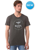 BENCH Bee Logo S/S T-Shirt dark shadow