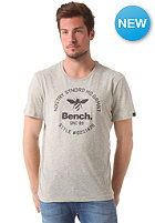 BENCH Bee Logo S/S T-Shirt seedpearl marl