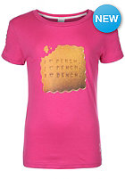 BENCH Bench Biscuit S/S T-Shirt raspberry rose