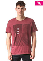 BENCH Birds Eye View S/S T-Shirt burnt russett
