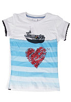 BENCH Boatlove S/S T-Shirt bright white