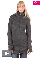 BENCH Bradie Hooded Zip Woolsweat black BLF 985C
