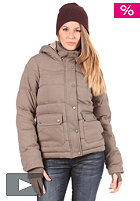 BENCH Cabin Jacket walnut marl BLK 1484
