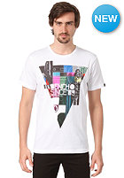 BENCH City Triangle S/S T-Shirt BRIGHT WHITE