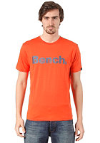 BENCH Corporation S/S T-Shirt mandarin red