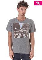BENCH Crossroad S/S T-Shirt stormcloud marl