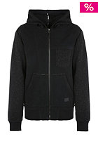 BENCH Crozer Hooded Zip Sweat black ink