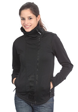 BENCH Duo Zip Up Sweatshirt black BLE 2389