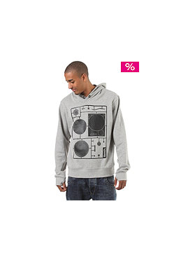 BENCH Fidel Hooded Sweat grey marl