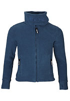 BENCH Funnel Neck Zip Fleece capri dark denim