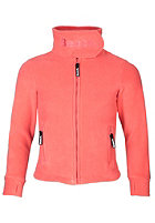 BENCH Funnel Neck Zip Fleece capri georgian peach