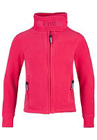 BENCH Funnel Neck Zip Fleece capri rose red