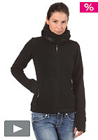 BENCH Funnelhood Hooded Zip Fleece Jacket black BLE 2657