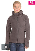 BENCH Funnelhood Hooded Zip Fleece Jacket shale BLE 2657