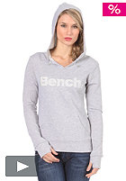 BENCH Garcia Hooded Sweat medium grey marl BLE 2968