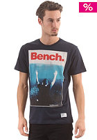 BENCH Great White S/S T-Shirt total eclipse
